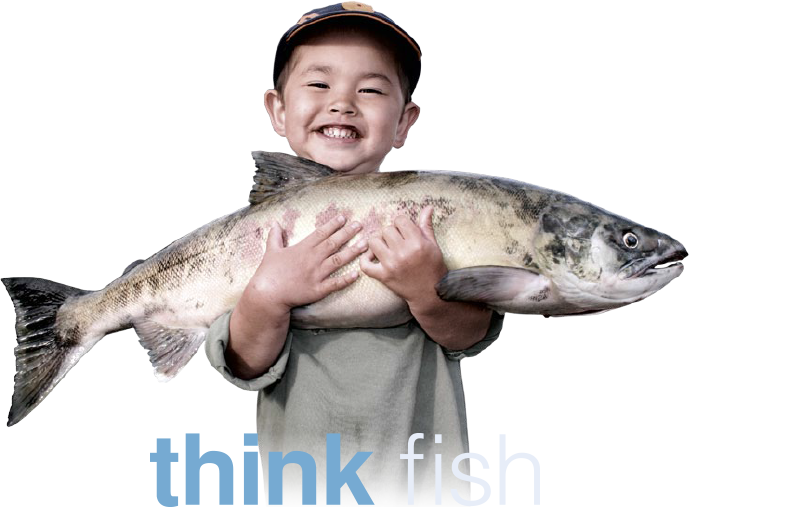 Think fish. Think fish on line.